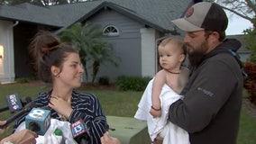 Valrico baby found safe after SUV stolen; suspect still on the run