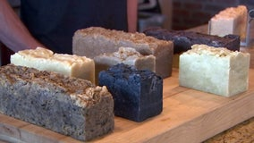 Inspired parents turn soap-making into business