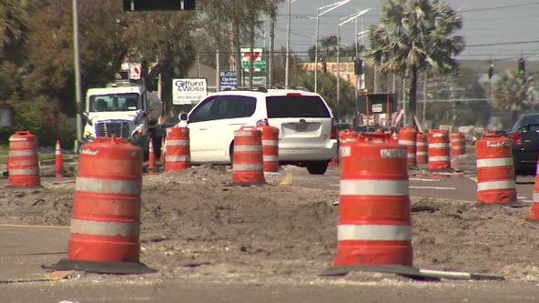 Drive Dale Mabry south of Gandy? Prepare for U-turns, lane closures