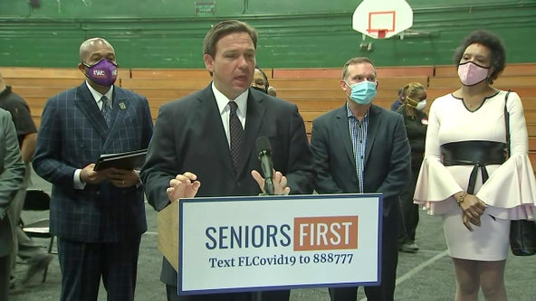 DeSantis: COVID-19 vaccination plan for certain law enforcement officers, teachers will be given next week