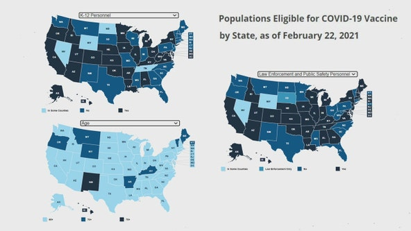 Florida among handful of states not past vaccinating seniors