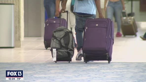 Florida travelers escape cold and COVID restrictions