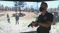 Officers use 320-degree simulator for incident training