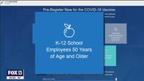 Teachers of all ages now eligible to be vaccinated