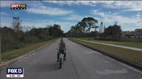Drone Zone: Adventure with ease on an electric bicycle