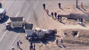 Deadly crash involving SUV carrying 25 people prompts human smuggling investigation, ICE confirms