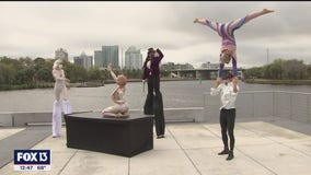 Aerial Dragons bring a 'lucid dream' to reality at Armature Works Pier