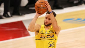 Steph Curry sinks final shot in NBA All-Star Game