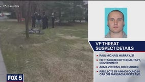 DC police say Texas man arrested at VP's mansion had rifle, large capacity clip