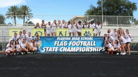 Robinson High School girls' flag football team hopes to tackle cancer with 'crucial catch' game