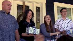 Organization surprises longest-tenured foster family with tickets to Universal Studios