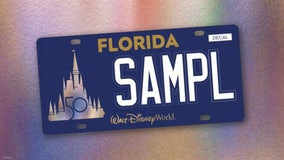 Florida to get first-ever Walt Disney World license plate, with 100% of proceeds benefiting Make-A-Wish