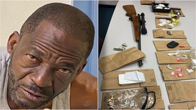 Sexual battery investigation leads to large drug seizure, recovery of stolen firearm, police say