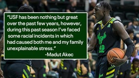 Former USF basketball player tweets about 'racist incidents' during season