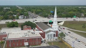 Neighbors hope to save Seminole Heights Baptist Church steeple