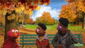 Sesame Street introduces two Black Muppets to teach Elmo skin color is 'an important part of who we are'