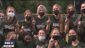 Sickles softball: Number 1 in the nation