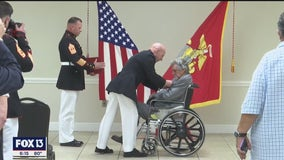 Veteran receives Silver Star nearly 70 years after saving others from enemy fire
