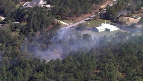 Crews contain 'fast-moving' Spring Hill brush fire