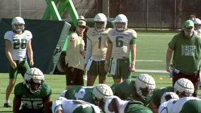 USF Coach Scott on Bulls' QB battle: 'A good problem to have'
