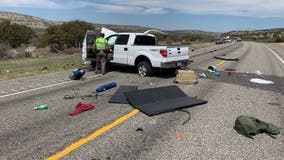 8 immigrants killed in crash while fleeing police on Texas highway