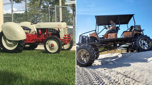 Great Rides: 1948 Ford 8N tractor & homemade golf cart