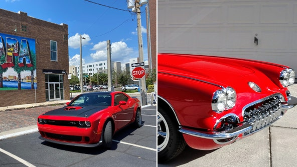 Great Rides: 1958 Corvette and 2020 Dodge Challenger