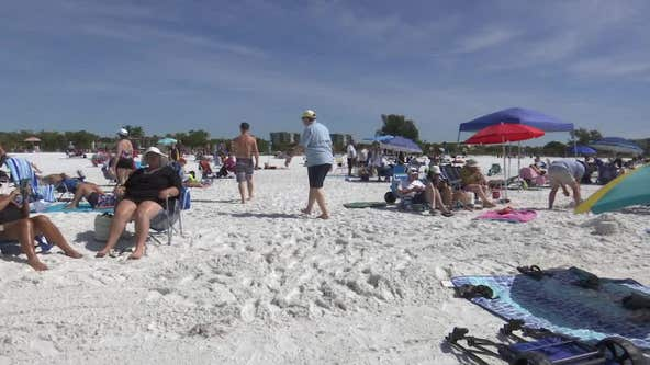 Flood of spring-breakers concerns beach residents