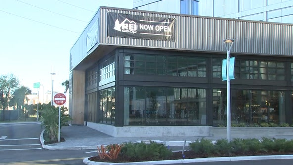 REI, the first store in Midtown Tampa, opens today