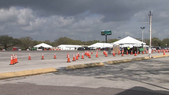 Tampa's first FEMA vaccination site officially opens Wednesday