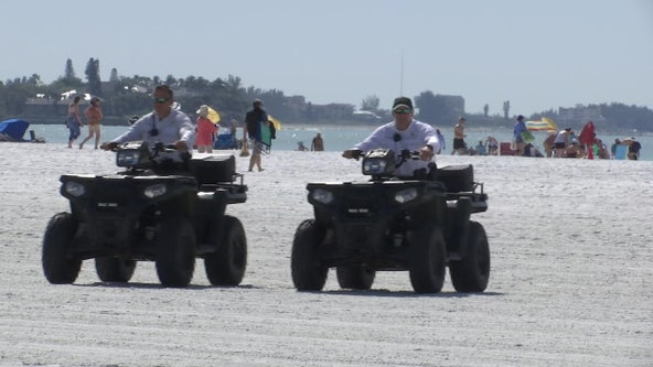 Sarasota Sheriff's Office steps up patrols as spring breakers soak up the sun