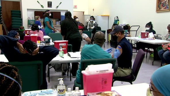A shot of hope: St. Petersburg church hosts 'pop-up' COVID-19 vaccination clinic