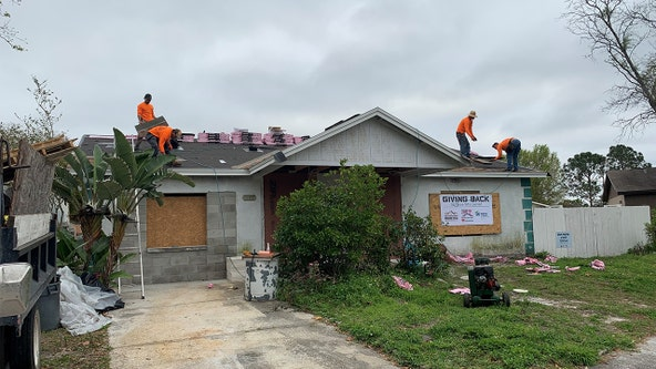Roof deployment project gives back to Brandon Air Force veteran