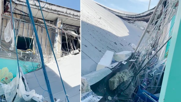 Roof collapses at South Florida middle school