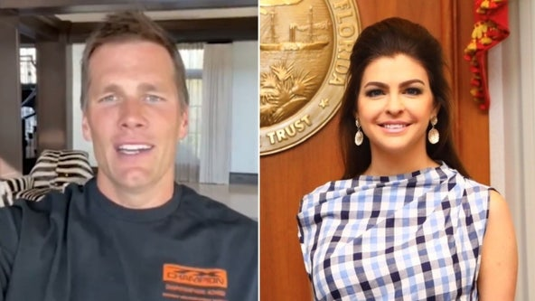 Tom Brady backs Florida first lady Casey DeSantis' initiative to help students through tough times