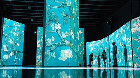 'Van Gogh Alive' exhibit at Dali Museum extended through mid-June