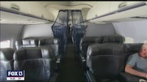 Study shows empty middle seat limits COVID spread