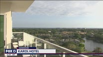 The Karol Hotel offers a boutique hotel experience with amazing views of Tampa Bay.