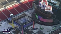 Preview: Wrestlemania 37 stage at Raymond James Stadium