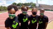 USF women's relay team tracks down long-time record