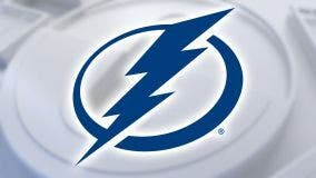 Panthers beat Tampa Bay Lightning 5-3 to move into 2nd in Central