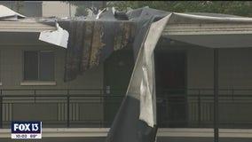 Sunday morning storms cause damage throughout Tampa Bay