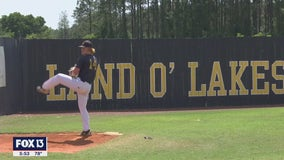 Land O' Lakes pitcher leading state in strikeouts