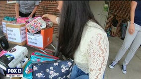 Teen starts non-profit to help girls in need of hygiene products