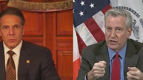 While de Blasio calls for fully reopening NYC on July 1, Cuomo responds it's his call