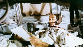Astronaut Michael Collins, part of Apollo 11 crew, dies at 90
