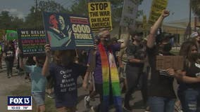 """""""Justice is a pattern; it's not an event,"""" Black Lives Matter holds Tampa rally, solidarity march"""
