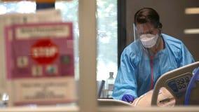 Nashville COVID ICU nurses give patient a spa day