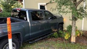 15-year-old crashes stolen pickup truck it into Clearwater home, police say
