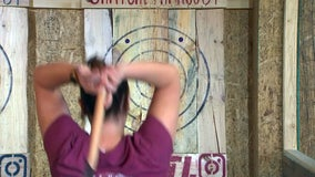 Newest axe throwing venue offers 15 lanes and certified coaches